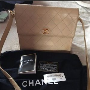Authentic Chanel cross body bag